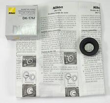 NIKON OCULAIRE LOUPE DE VISÉE DK-17M pour D700, D800, D2, D3, D4, F4, F5, F6