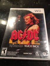 AC/DC Live Rock Band Track Pack Nintendo Wii Brand New Factory Sealed