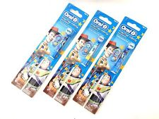 (3) Oral B Replacement Head (Disney Toy Story) Extra Soft