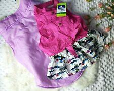 Dog Clothes Lot Clothing Girl Dress Jacket Coat Sz Medium Large New Spring Pink