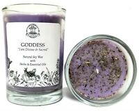 Goddess Affirmation Soy Candle Power Divinity Admiration Strength Wiccan Pagan