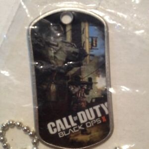 CALL OF DUTY Black Ops 2 II Dog Tag Limited Edition Microsoft Xbox Launch Event