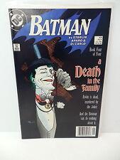 Batman DC Comic Book #429 Death In The Family Joker Mignola Cover Superman App.
