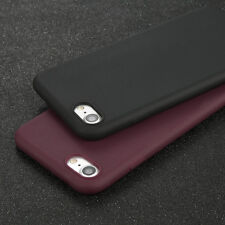 For iPhone 5 6 7 Plus Ultra Thin Slim Rubber Soft Jelly TPU Back Case Skin Cover