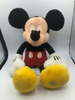 The Walt Disney Store Exclusive Mickey Mouse Plush Kids Soft Stuffed Toy Animal