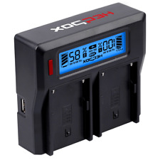 HedBox RP-DC50/UK Digital Dual Battery Charger