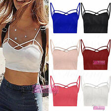 Women's Sleeveless Strappy, Spaghetti Strap Party Tops & Shirts