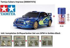 Sparset 1:10 RC Subaru Impreza WRX 2004 (TT-01E) TAMIYA 300047372