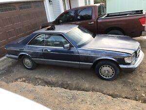 1983 Mercedes Benz 380SEC partout