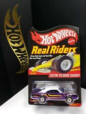 2008 HOT WHEELS RLC SERIES 7 REAL RIDERS '69 DODGE CHARGER LIMITED 7500 - A1