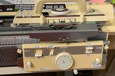 Brother Knitking (Kh930) Computerized Knitting Machine and Brother Kr-850 Ribber