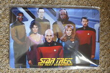 Star Trek Next Generation Design Tin Metal Sign Painted Poster Comics Book Wall