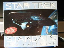 STAR TREK STARDATE 1998  PAGE-A-DAY CALENDAR NEW IN BOX