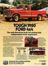 1980 Ford F-150 Ranger 4x4 - Classic Truck Advertisement Ad J106
