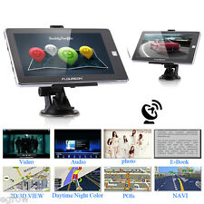 "7"" AUTO GPS NAVIGATORE SATELLITARE SAT TOUCHSCREEN NAV FM MP4 EU MAPPA 8GB"