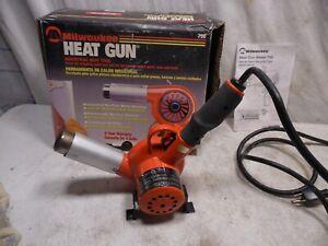 MHT Milwaukee #750 Industrial Heat Gun Die Cast Metal Housing 14 Amp 1680 Watt