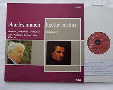 MUNCH / BERLIOZ Requiem FRANCE 2LP RCA AVL2 0677 (1974) EX/NMint
