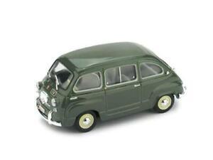 Fiat 600D Multipla Polizia Stradale 1960 Brumm R451 1:43 Modellino Auto Diecast