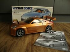 TAMIYA 58287 NISSAN 350Z ON TL-01 4WD ROLLING CHASSIS WITH BOX AND MANUAL