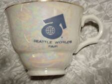 SEATTLE SPACE NEEDLE 1962 World's Fair Cup