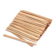 100 Small Wooden Waxing Sticks Eyebrow Sticks Applicators - #PW5011x1
