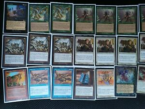 MTG Urza's Legacy Including Palinchron , Crop Rotation , No Mercy and More
