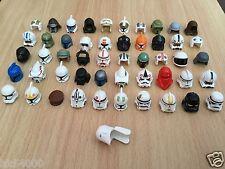 Casques LEGO Star Wars (Helmet) pour personnages minifigs figuren headgear