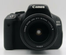 Canon 600D + zoom 18-55mm + SD 16GB