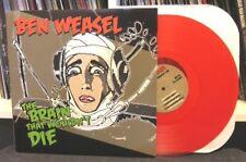 """Ben Weasel """"The Brain That Wouldn't Die""""Lp Screeching Riverdales Queers Orig/250"""