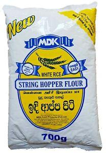 MDK 100% Natural String Hopper Flour Mix White Rice Powder 700g Sri Lankan.