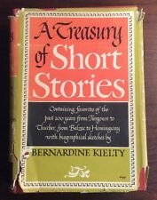 A Treasury Of Short Stories (1947, Hardcover) Bernadine Kielty PreOwnedBook.com