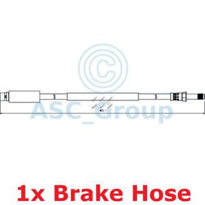 Apec BRAKING 465mm Bremsscheiben Bremssattel Flexible Gummi Schlauch HOS4043