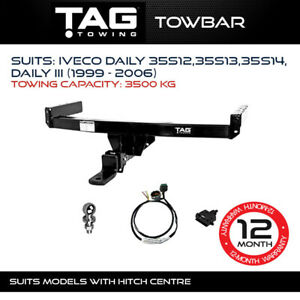 TAG Towbar Fits Iveco Daily III 1999 - 2006 Towing Capacity 3500Kg 4x4 Exterior
