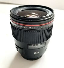 Lente CANON EF 35mm f/1.4L USM Lens - Excelente Estado - GREAT CONDITION