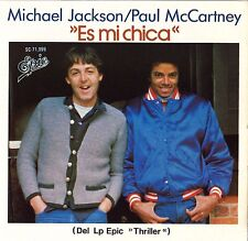 "#03 Michael Jackson The girl is mine / Es mi chica (7"" Mexique - 1983)"