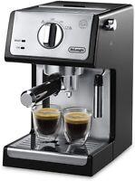 Delonghi ECP3420 15-Bar Pump Cappuccino Espresso Machine - Black New!