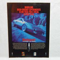 MOTORCRAFT VINTAGE ADVERTISING MAGAZINE PAGE,OCTOBER 17,1983