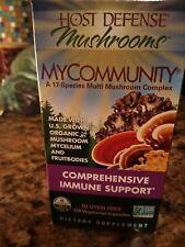 NIB/sealed Host Defense Mushrooms My Community 120 Caps. Exp. 3-2022