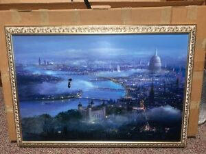 Peter Ellenshaw Flying In London Skies From Disney Mary Poppins Disney Art