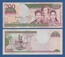 DOMINICAN REPUBLIC -- 200 PESOS ORO ( 2009 ) -- UNC -- CL -- PICK 178A .