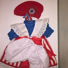 Dress Doll Costume robe Poupée Corolle commémoration Revolution 1789 avec Jupon