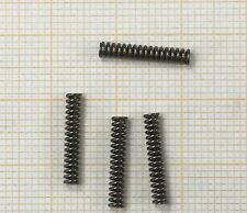 4 x Druckfeder, Länge 14mm, Außen Ø2,5mm, Drahtstärke 0,5mm
