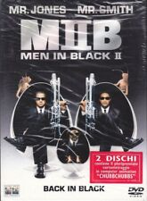 2 Dvd «MIIB ♦ MIB ♦ MEN IN BLACK II 2» con Tommy Lee Jones Will Smith nuovo 2002
