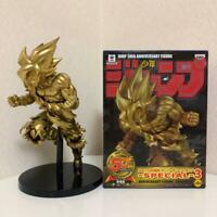Dragon Ball Z Son Goku Jump 50th Anniversary SPECIAL Gold Color Figure JAPAN