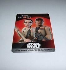 DISNEY INFINITY 3.0 Star Wars Unused Web Code Card The Force Awakens Playset