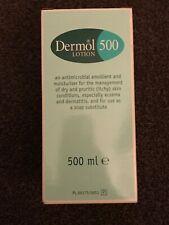 Dermol 500 Lotion 500ml Pump For Eczma Dermatitis Psoriasis