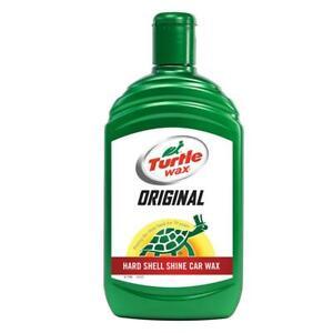 Turtle Wax Original Liquid Car Wax Hard Shell Shine Lasting Protection 500ml
