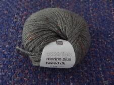 Rico Design Essentials Ball of Merino Plus Olive Tweed DK 50g New