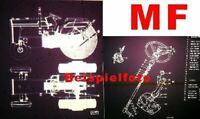 Massey Ferguson MF 260 Microfich Ersatzteilliste 1981