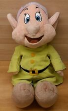 Disney Store DOPEY Large Plush Doll Toy Snow White & The Seven Dwarfs